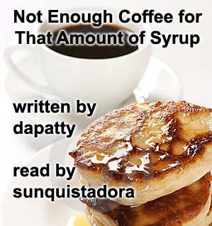 Pancakes with title text